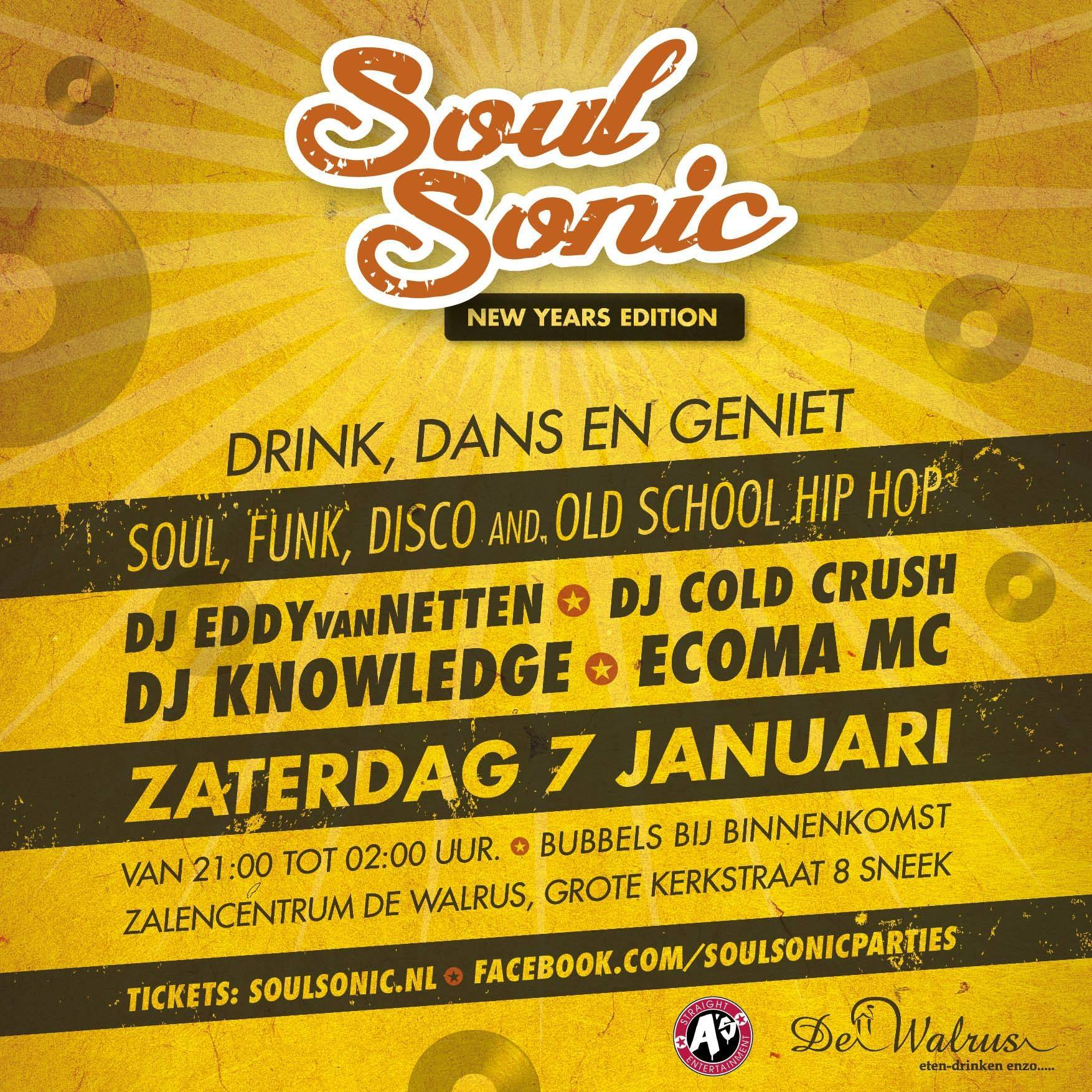 AV Techniek – Soul Sonic New Years Edition